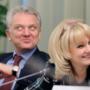 Зампредседателя Правительства РФ по социальным вопросам Татьяна Голикова и её муж Виктор Христенко вложили 360 миллионов долларов в элитные российские гольф-клубы