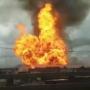 В подмосковных Мытищах горит ТЭЦ