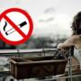 С 1 октября курить на балконах запрещено