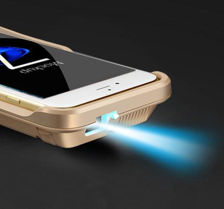 Карманный мини-проектор для смартфона